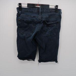 Rock & Republic Shorts - Rock & Republic Distressed Bermuda Jean Shorts